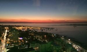 Atardecer en Punta del Este Uruguay