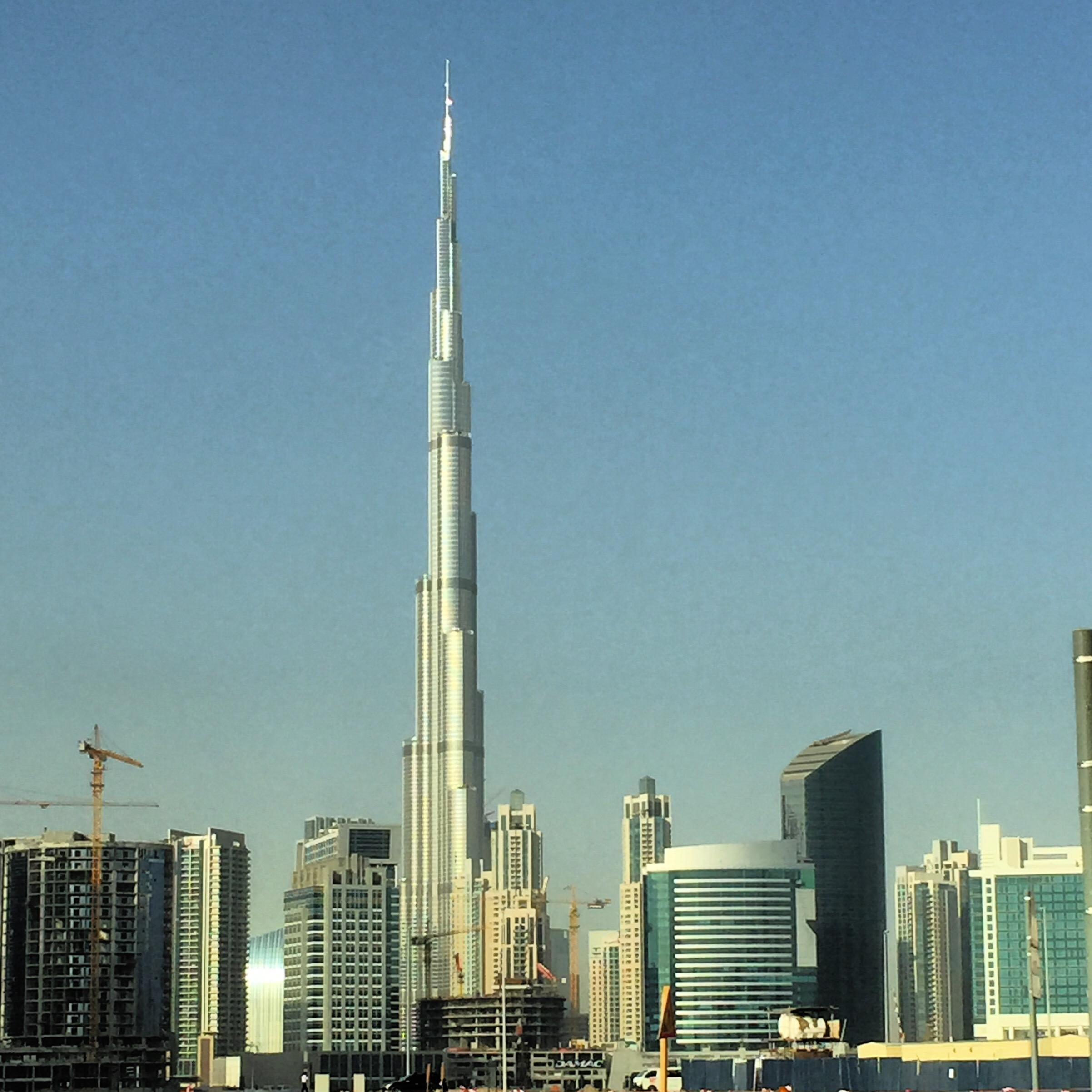 Burj Khalifa tallest building in the world in Dubai