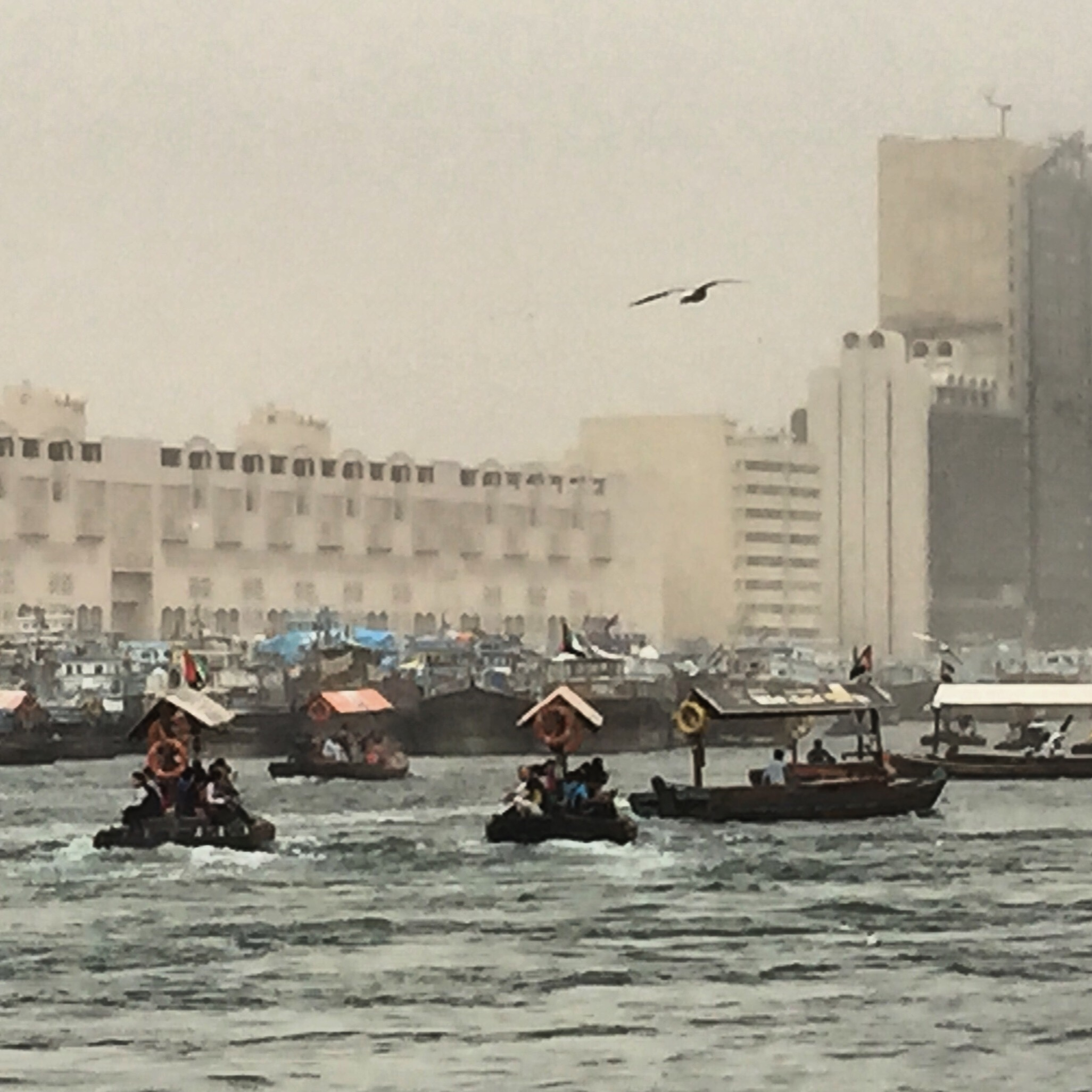 Water taxis in Dubai creek