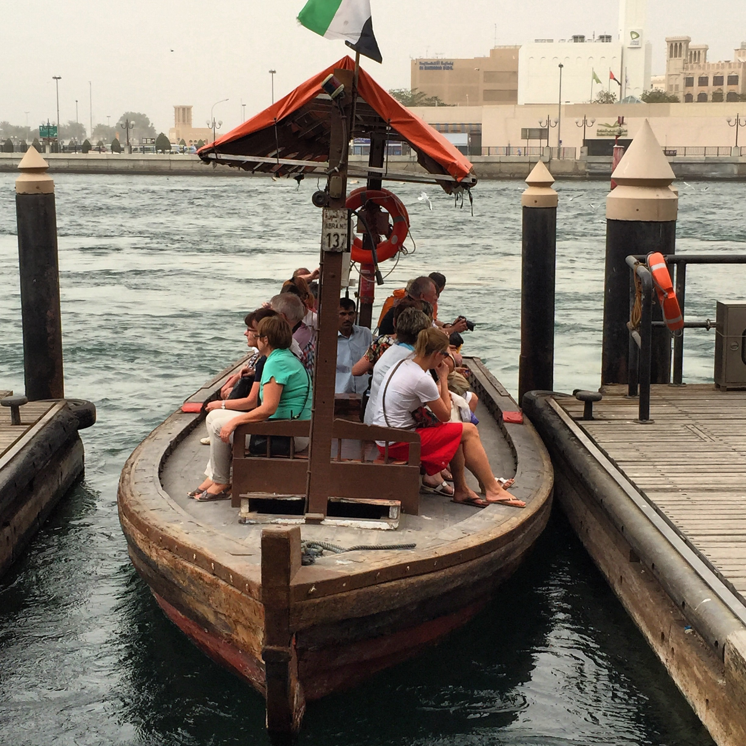 Water taxi at Dubai creek