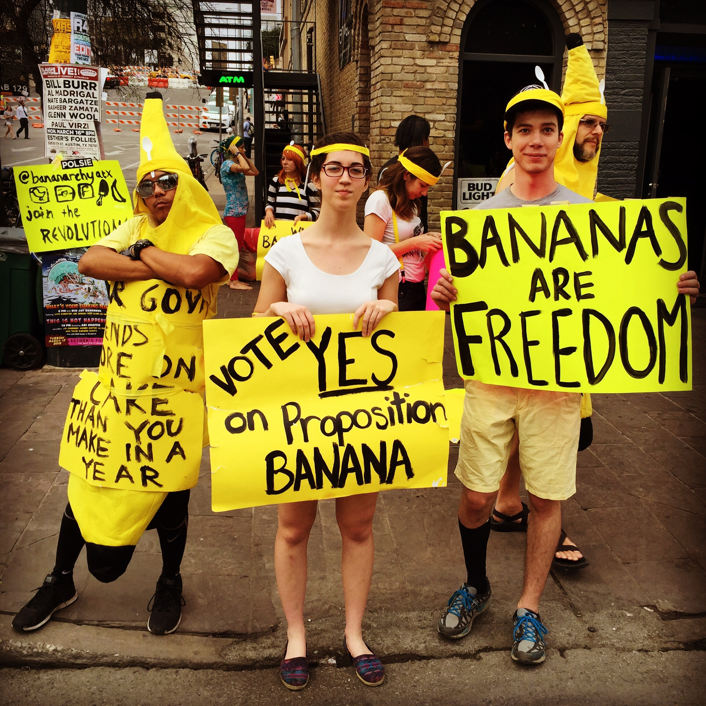 Proposition banana at SXSW