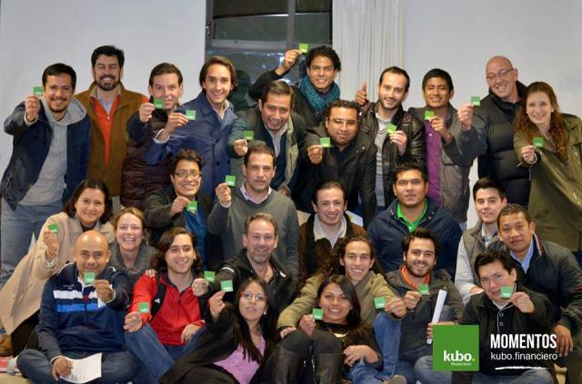 kubo.financiero team Mexico leading p2p lending platform