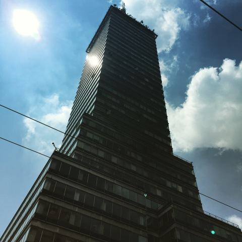 downtown Mexico City Torre Latinoamericana
