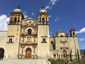 Santo Domingo church in Oaxaca Mexico