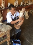 Oaxaca Mexico alebrije making