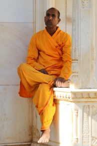 hinduist monk in Jaipur, India