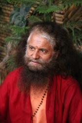 Pujya Swami Shukdevanandji Maharaja, spiritual leader of Parmarth Niketan, Rishikesh, India
