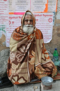 Indian sadhu in Rishikesh, India