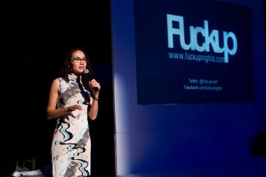 Leticia Gasca, co-founder and ceo fuckup nights and failure institute