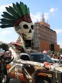 Desfile dia de muertos 2016 en Ciudad de Mexico - day of the dead parade in Mexico City