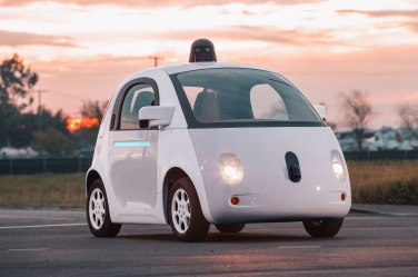 Vehiculo autonomo Google Uber